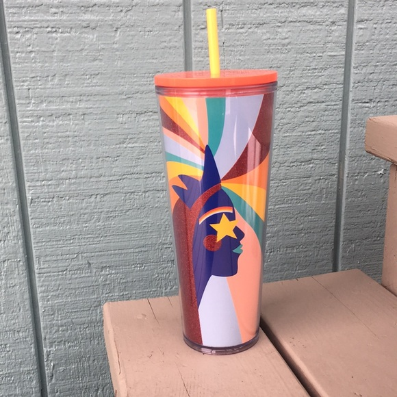 STARBUCKS Mermaid PRIDE Tumbler Cup 24 oz NEW